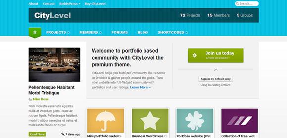 Wordpress Social Media Template. 39 social media website themes ...