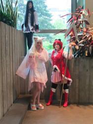 Homura and kyubey
