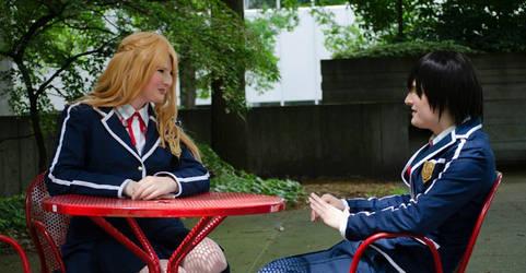 Kirito and Asuna's first date