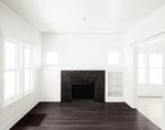 Empty Room - Two Rooms - Dark Brown Fireplace - Da