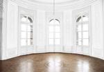 Empty Room - Castle - Light Gray Walls - Transpare
