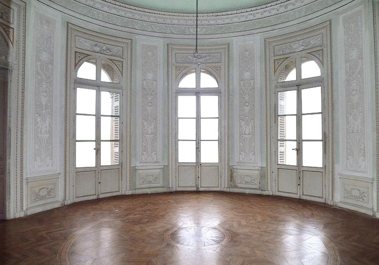 Empty room castle light green transparent wi by for Interior design images png