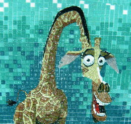 Madagasca Giraffe- bathroom p3