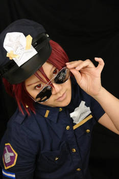 Officer Matsuoka on Duty