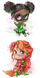 chibi commissions example by josikaea