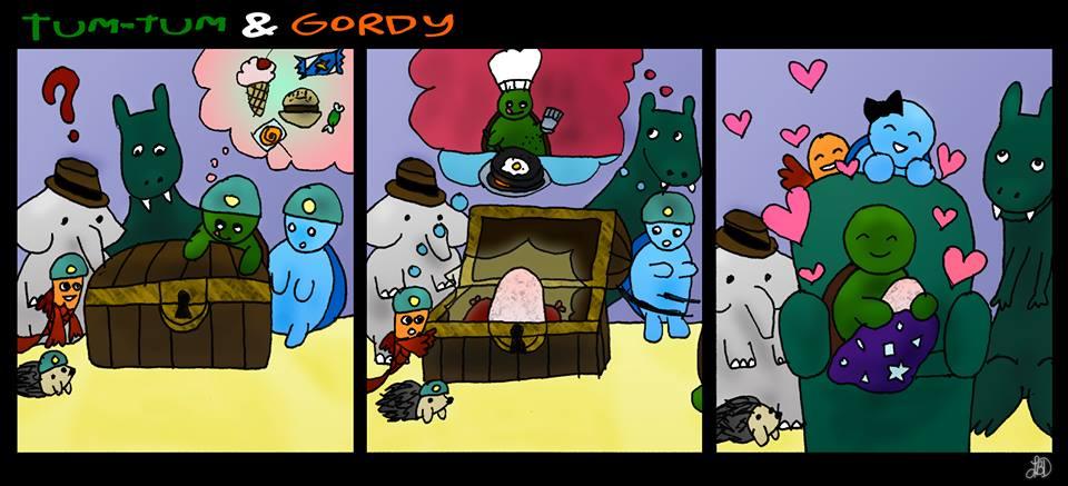 Tum-Tum and Gordy - Treasure by DarkIcePrincess