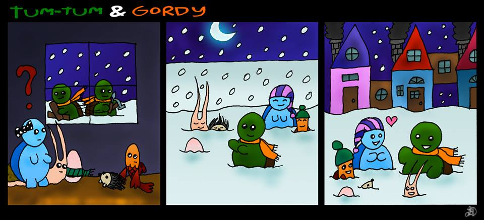 Tum-Tum and Gordy - Pook Palace pt 2 by DarkIcePrincess