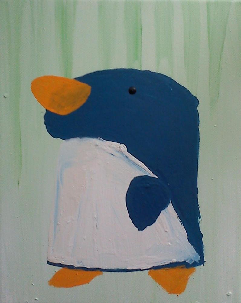 A little penguin by DarkIcePrincess
