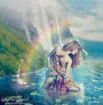 Rainbow Dryade by Le-Meridian