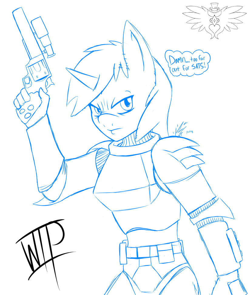 Little Pip Armor WIP by AceofDiamonds23