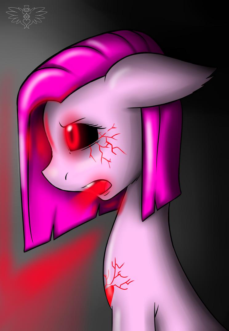 Pinkie Demon by FierceWendigo