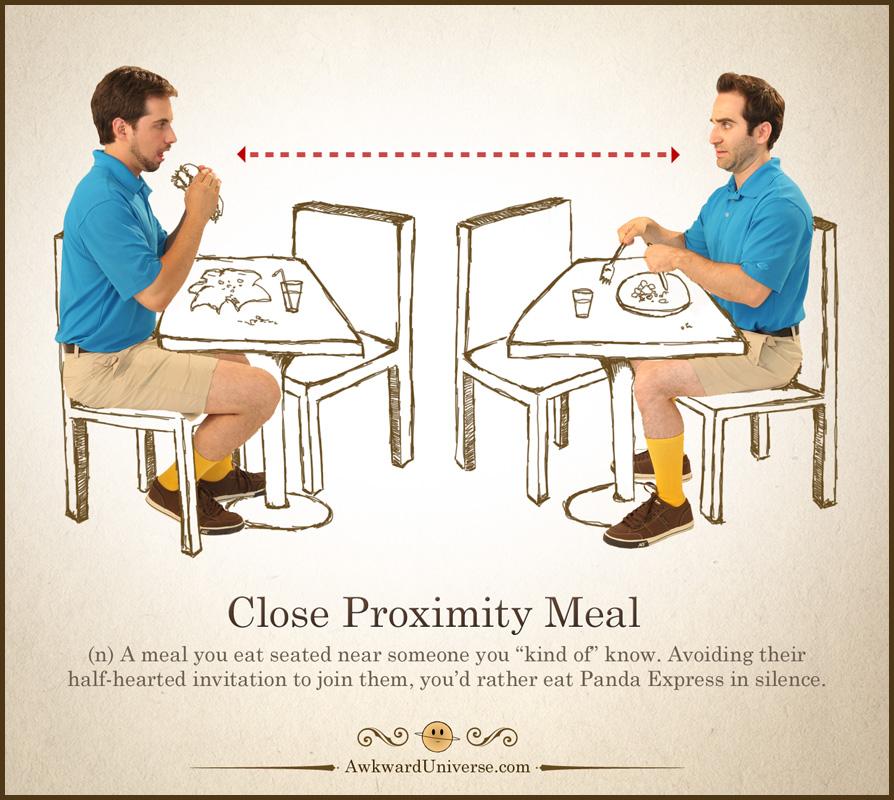 Close Proximity Meal by AwkwardUniverse on DeviantArt
