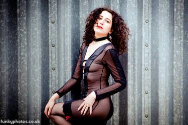 50 Shades of Black by Model-Rita