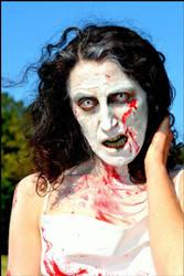 Zombie Girl by Model-Rita