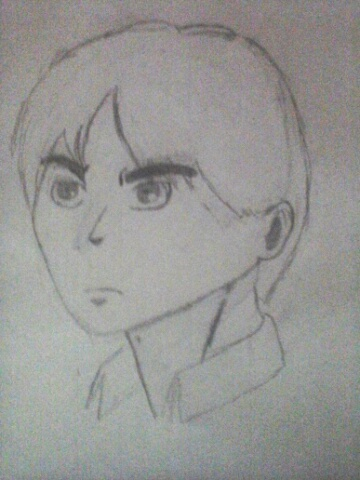 Eren Jaeger (improved version) by NeonGreenCottontail