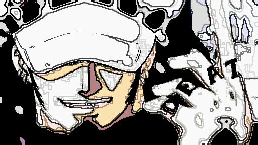 Trafalgar Law Punk Hazard by NeonGreenCottontail