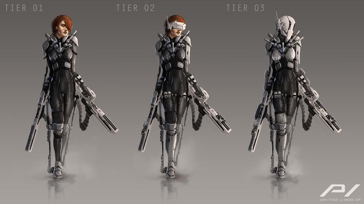 Tactical Suit Concept by JoanPiqueLlorens