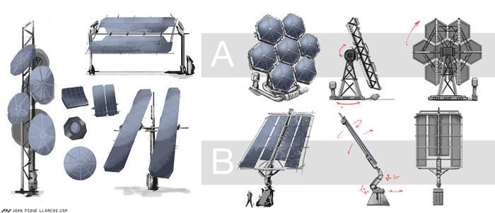 Farlight Explorers - Solar array explorations by JoanPiqueLlorens