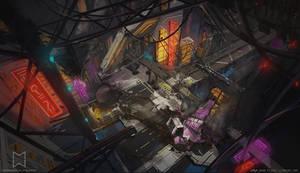 Omegatech - Environment concept art 04
