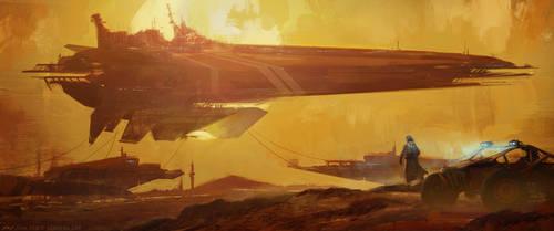 Shipyard by JoanPiqueLlorens