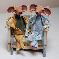 rats - art doll