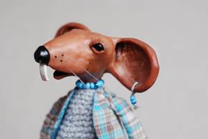 rat - art doll