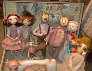 dolls by Elene Ovcharova