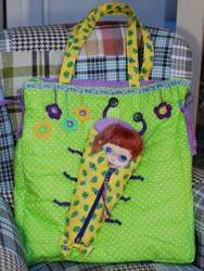 Bag for you and travel bag for Blythe