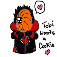 Tobi Wants A Cookie Nya :3 by Mellonychan