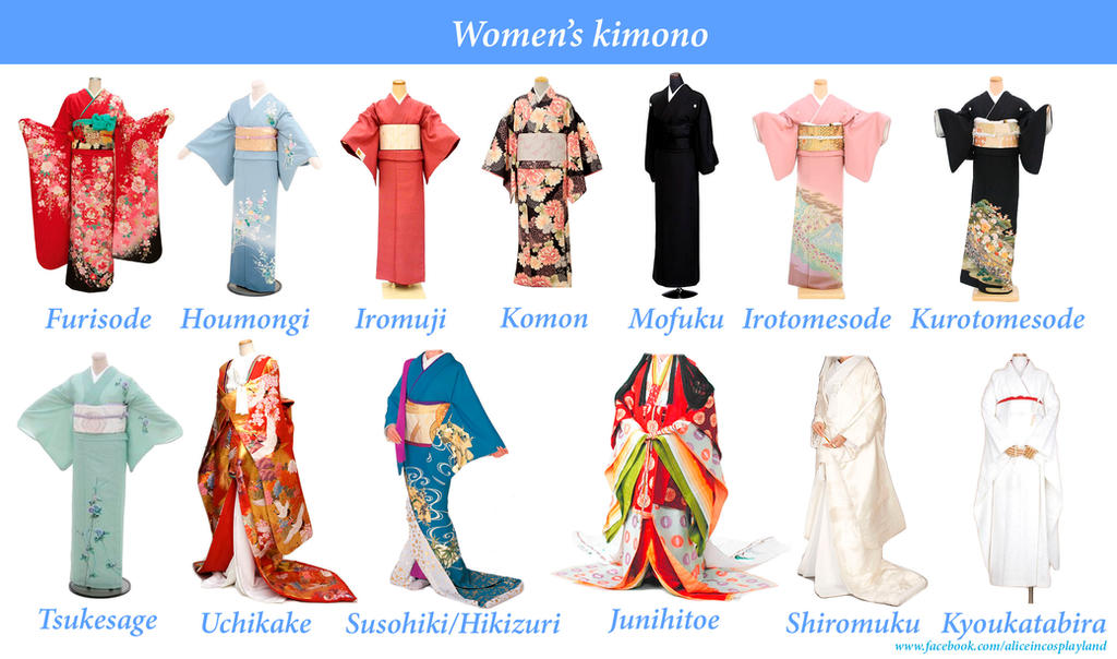 Types of japanese fashion styles
