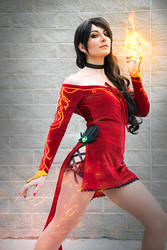 Cinder Fall - You light my fire by Aliceincosplayland