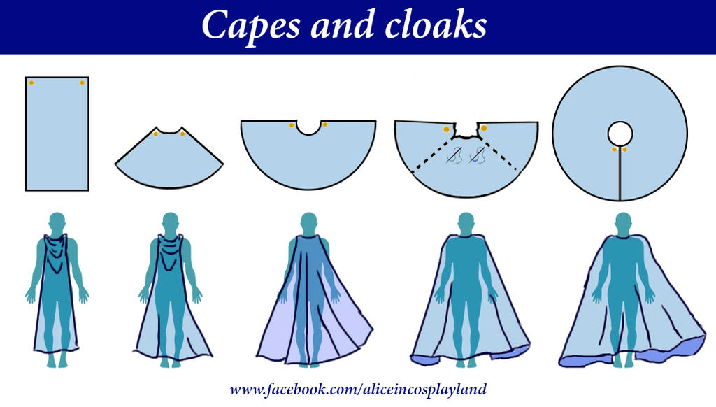 Capes And Cloaks by Aliceincosplayland