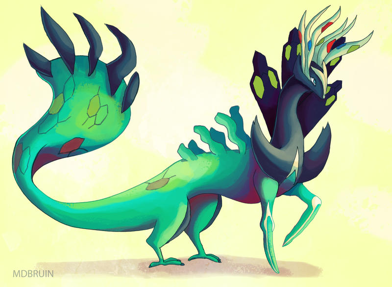 yveltal zygarde xerneas by mdbruin on DeviantArt