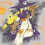 Halloween: Wizardmon Style
