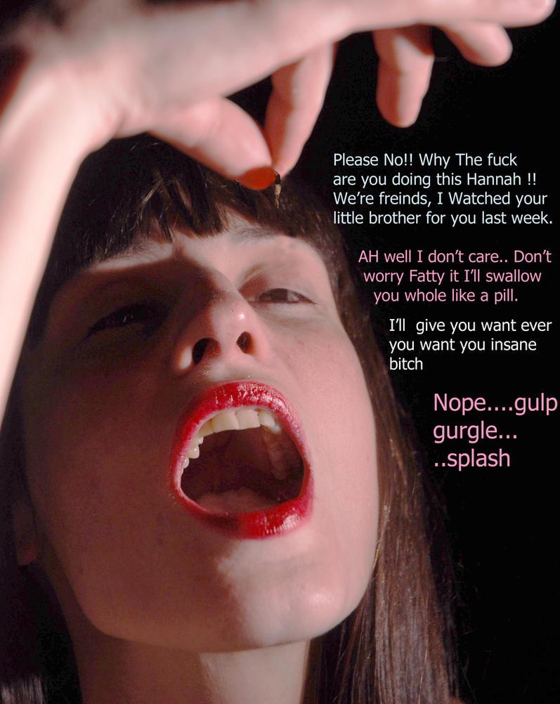 Giantess eats you