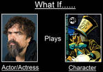 What if Peter Dinklage played the Mad Hatter