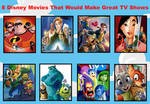 My 8 Disney Movies That Would Make Great TV Shows