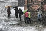 La neige a Strasbourg