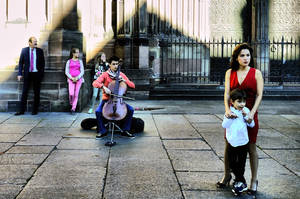 Cellist by cahilus