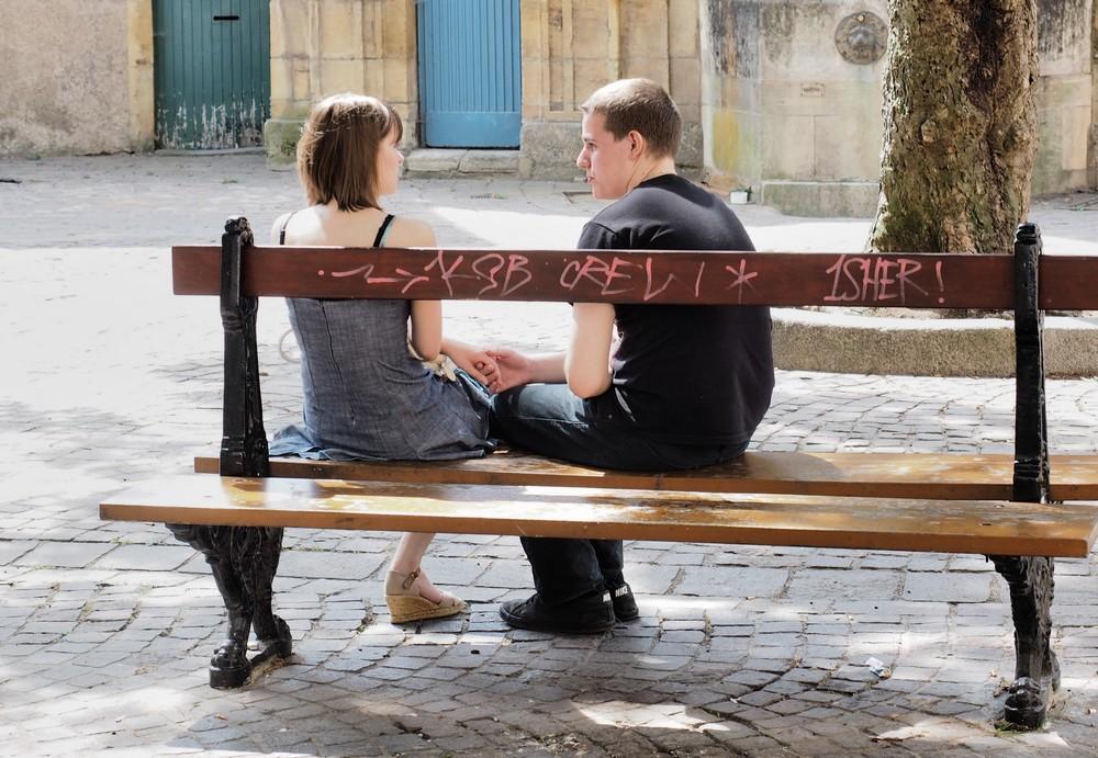 Les amants de Place Sainte-Croix by cahilus