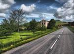 Road to Cordes-sur-Ciel