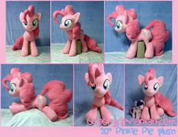 30 inch Pinkie Pie plush by qtpony
