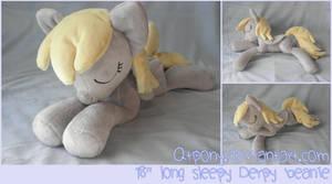 Sleepy Derpy beanie by qtpony