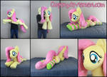 45in laying Fluttershy
