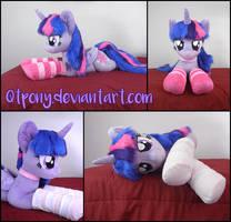 Lifesize 45in Twilight Sparkle plush V2