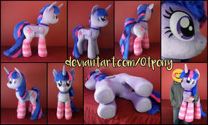 40 inch Twilight Sparkle plush by qtpony