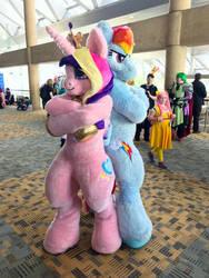 BC19 Princess Cadance and Rainbow Dash