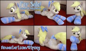 (SOLD) Lifesize 56 inch Derpy plush