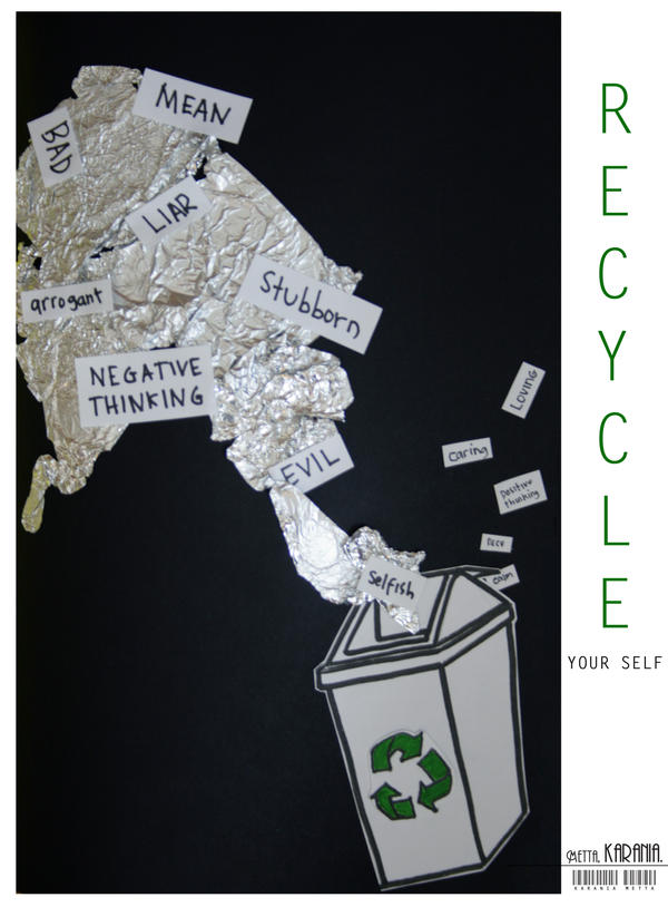 RECYCLE. by mettaKarania