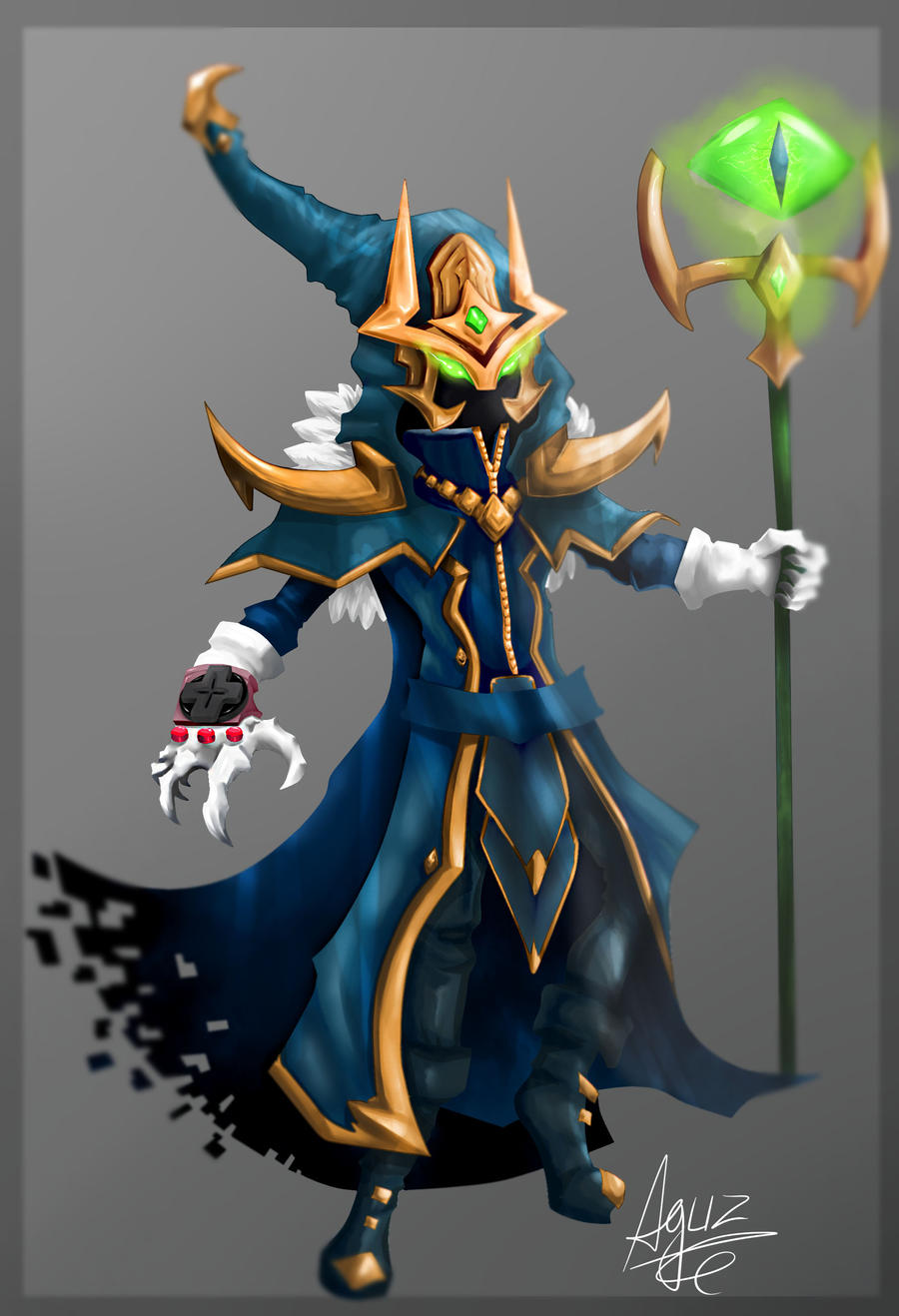 Unimaginable is the power of Veigar by AguZ on DeviantArt